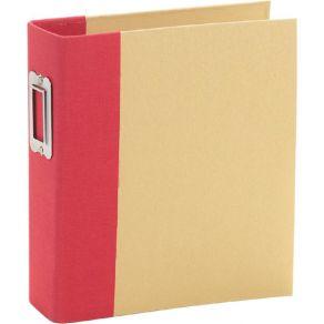 Album à pochettes Snap Flipbook 15X20 RED par Simple Stories. Scrapbooking et loisirs créatifs. Livraison rapide et cadeau da...
