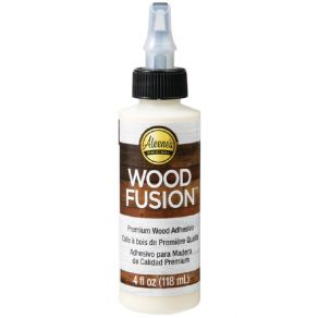 Colle spéciale bois WOOD FUSION par Aleene's. Scrapbooking et loisirs créatifs. Livraison rapide et cadeau dans chaque commande.