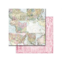 Papier imprimé Around The World AROUND THE WORLD par Memory Place. Scrapbooking et loisirs créatifs. Livraison rapide et cade...