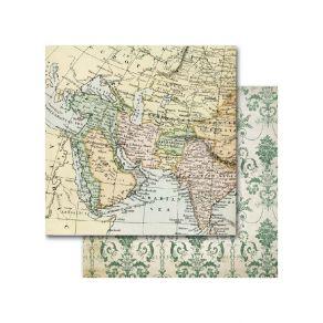 Papier imprimé Around The World ASIA II par Memory Place. Scrapbooking et loisirs créatifs. Livraison rapide et cadeau dans c...