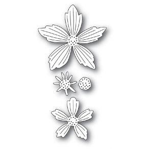 Outil de découpe LAYERED FRESH FLOWERS par Memory Box. Scrapbooking et loisirs créatifs. Livraison rapide et cadeau dans chaq...