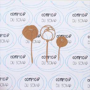 Outil de découpe PIVOINES par Comptoir du Scrap. Scrapbooking et loisirs créatifs. Livraison rapide et cadeau dans chaque com...