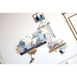 Tampon clear PRENDRE LE LARGE par Florilèges Design. Scrapbooking et loisirs créatifs. Livraison rapide et cadeau dans chaque...