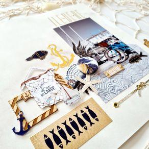 Tampon clear L'APPEL DE L'OCÉAN par Florilèges Design. Scrapbooking et loisirs créatifs. Livraison rapide et cadeau dans chaq...