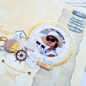 Outil de découpe VUE SUR MER par Florilèges Design. Scrapbooking et loisirs créatifs. Livraison rapide et cadeau dans chaque ...