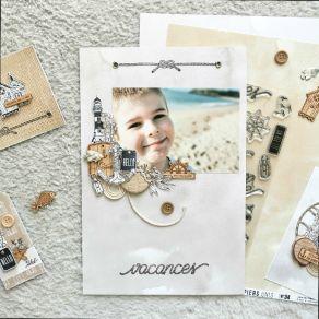 Tampon bois JETER L'ANCRE par Florilèges Design. Scrapbooking et loisirs créatifs. Livraison rapide et cadeau dans chaque com...