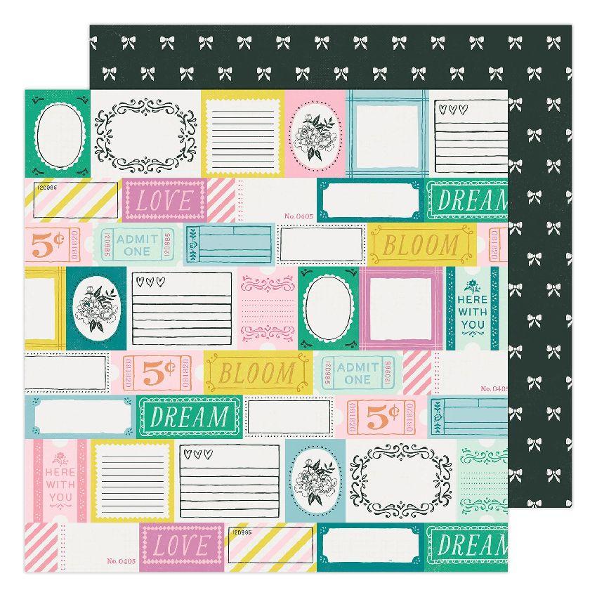 Papier imprimé Maggie Holmes Garden Party GARDEN STROLL par American Crafts. Scrapbooking et loisirs créatifs. Livraison rapi...
