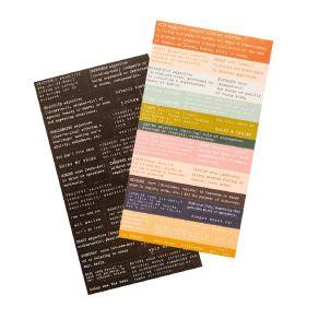 Stickers Carefree DEFINITION par Heidi Swapp. Scrapbooking et loisirs créatifs. Livraison rapide et cadeau dans chaque commande.