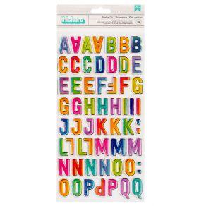 Stickers cartonnés Vicki Boutin Color Study MODERN ART ALPHA par American Crafts. Scrapbooking et loisirs créatifs. Livraison...