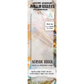 Bloc acrylique BORDER par AALL & Create. Scrapbooking et loisirs créatifs. Livraison rapide et cadeau dans chaque commande.