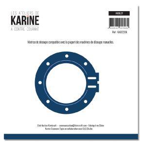 Outil de découpe A Contre Courant HUBLOT par Les Ateliers de Karine. Scrapbooking et loisirs créatifs. Livraison rapide et ca...