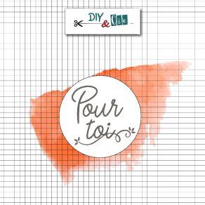 Sceau en laiton pour cachets de cire POUR TOI par DIY and Cie. Scrapbooking et loisirs créatifs. Livraison rapide et cadeau d...