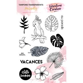 Tampons clear Variations Créatives PARADIS