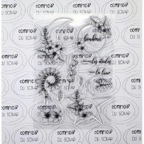 Tampon clear DÉCROCHER LES ÉTOILES par Comptoir du Scrap. Scrapbooking et loisirs créatifs. Livraison rapide et cadeau dans c...