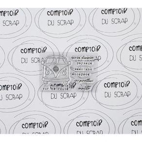 Tampon clear ENVIE D'ÉVASION par Comptoir du Scrap. Scrapbooking et loisirs créatifs. Livraison rapide et cadeau dans chaque ...