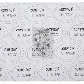 Tampon clear MOBILE COQUILLAGE par Comptoir du Scrap. Scrapbooking et loisirs créatifs. Livraison rapide et cadeau dans chaqu...