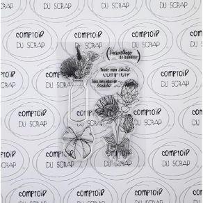 Tampon clear PROTEA par Comptoir du Scrap. Scrapbooking et loisirs créatifs. Livraison rapide et cadeau dans chaque commande.