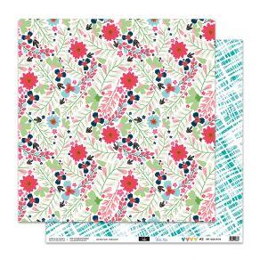 Papier imprimé VOILA L'ÉTÉ 2 par Sokai. Scrapbooking et loisirs créatifs. Livraison rapide et cadeau dans chaque commande.