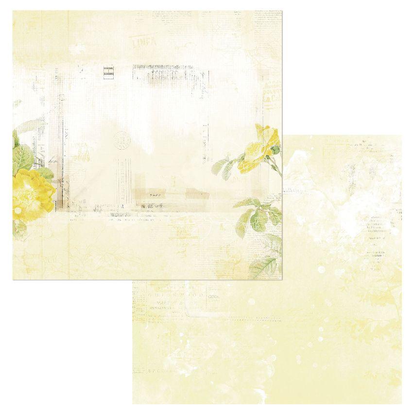 Papier imprimé Vintage Artistry Butter SERENITY