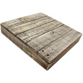Boite en bois 30 X 30 CM par Salvaged. Scrapbooking et loisirs créatifs. Livraison rapide et cadeau dans chaque commande.