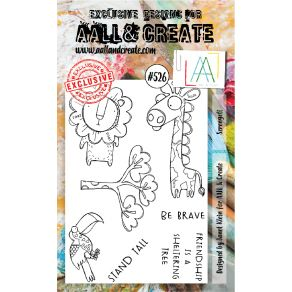 Tampons clear AALL and CreateSERENGETI 526