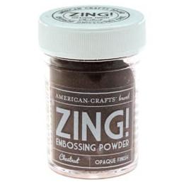 Poudre à embosser ZING CHESNUT OPAQUE par American Crafts. Scrapbooking et loisirs créatifs. Livraison rapide et cadeau dans ...