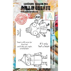 Tampons clear AALL and Create TIN MAN & MONKEY 503