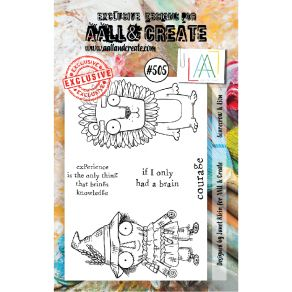 Tampons clear AALL and Create SCARECROW & LION 505