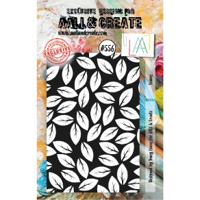 Tampons clear AALL and Create LEAVES 556