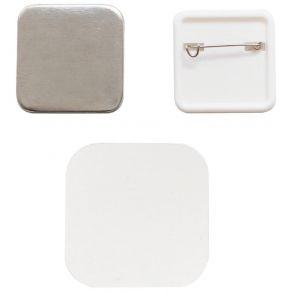 10 recharges de badges pour Button Press SQUARE 31MM par We R Memory Keepers. Scrapbooking et loisirs créatifs. Livraison rap...