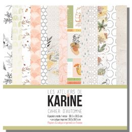 Kit collection CAHIER D'AUTOMNE