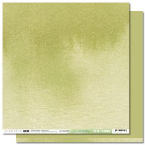 Papier uni Back to Basics Cahier d'Automne 9 VERT FEUILLAGE par Les Ateliers de Karine. Scrapbooking et loisirs créatifs. Liv...