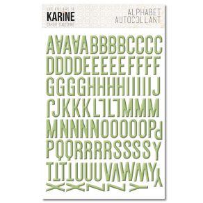 Stickers alphabet CAHIER D'AUTOMNE par Les Ateliers de Karine. Scrapbooking et loisirs créatifs. Livraison rapide et cadeau d...