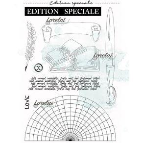 Tampons clear EDITION SPECIALE par Lorelai Design. Scrapbooking et loisirs créatifs. Livraison rapide et cadeau dans chaque c...
