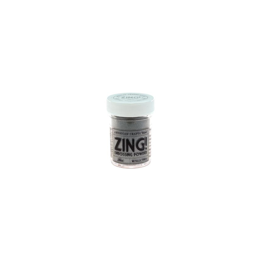Poudre à embosser ZING METALIC SILVER