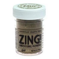 Poudre à embosser ZING GOLD METALLIC