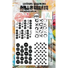 Tampon clear AALL and Create X OR O 494