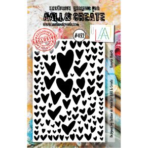 Tampon clear AALL and Create REVERSE HEARTZ 492
