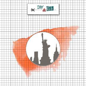 Sceau en laiton pour cachets de cire NEW YORK par DIY and Cie. Scrapbooking et loisirs créatifs. Livraison rapide et cadeau d...