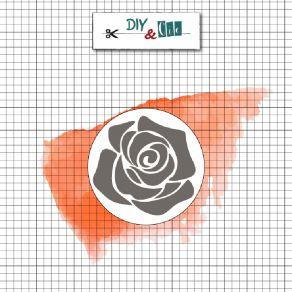 Sceau en laiton pour cachets de cire ROSE par DIY and Cie. Scrapbooking et loisirs créatifs. Livraison rapide et cadeau dans ...