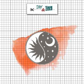 Sceau en laiton pour cachets de cire YING YANG CELESTE par DIY and Cie. Scrapbooking et loisirs créatifs. Livraison rapide et...