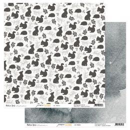 Papier imprimé POÉSIE D'AUTOMNE 3 par Béatrice Garni Illustration. Scrapbooking et loisirs créatifs. Livraison rapide et cade...