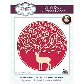 Outil de découpe WINTER STAG par Creative Expressions. Scrapbooking et loisirs créatifs. Livraison rapide et cadeau dans chaq...