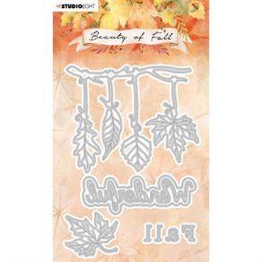 Outils de découpe Beauty Of Fall PAYSAGE NR.55 par Studio Light. Scrapbooking et loisirs créatifs. Livraison rapide et cadeau...