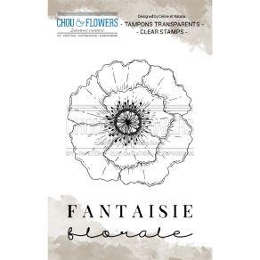 Tampon clear FANTAISIE par Chou and Flowers. Scrapbooking et loisirs créatifs. Livraison rapide et cadeau dans chaque commande.