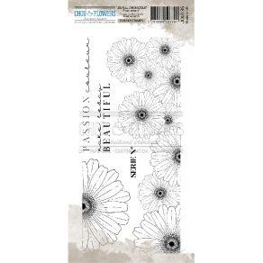 Tampon clear FRISE SERIE N° par Chou and Flowers. Scrapbooking et loisirs créatifs. Livraison rapide et cadeau dans chaque co...