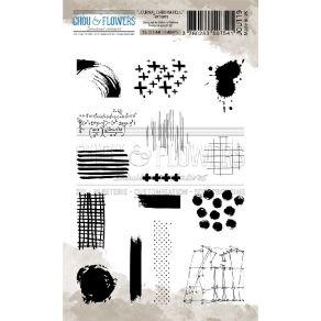 Tampon clear TEXTURE par Chou and Flowers. Scrapbooking et loisirs créatifs. Livraison rapide et cadeau dans chaque commande.
