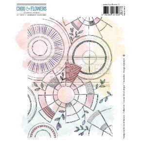 Tampon non monté CHRONODEX par Chou and Flowers. Scrapbooking et loisirs créatifs. Livraison rapide et cadeau dans chaque com...