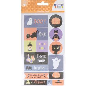 Stickers HALLOWEEN par Artemio. Scrapbooking et loisirs créatifs. Livraison rapide et cadeau dans chaque commande.