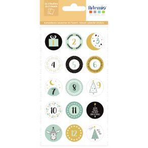 Stickers IMAGINE XMAS RONDS par Artemio. Scrapbooking et loisirs créatifs. Livraison rapide et cadeau dans chaque commande.